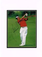 Lee Westwood Autograph Signed Photo